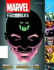 Marvel Fact Files #37 With Binder Eaglemoss Publications